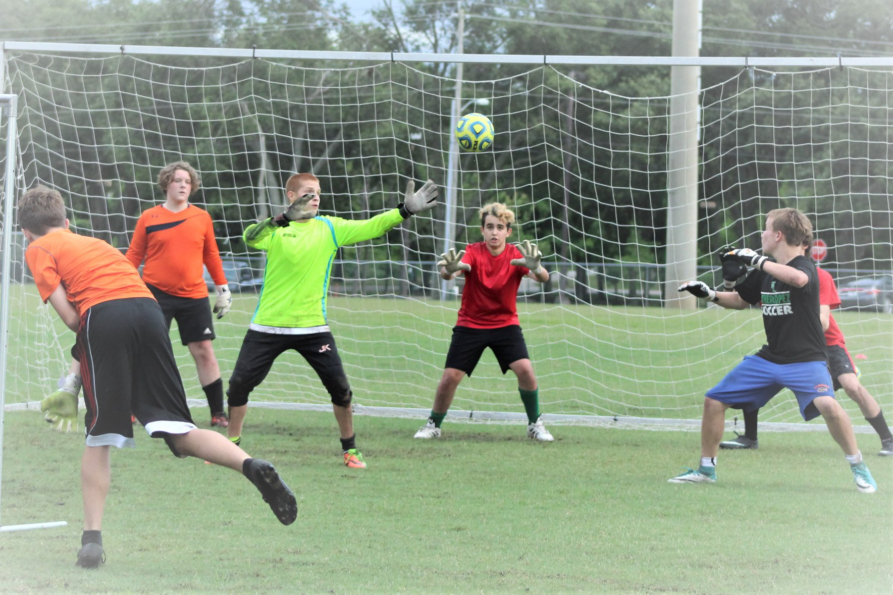 Camps for goalkeepers