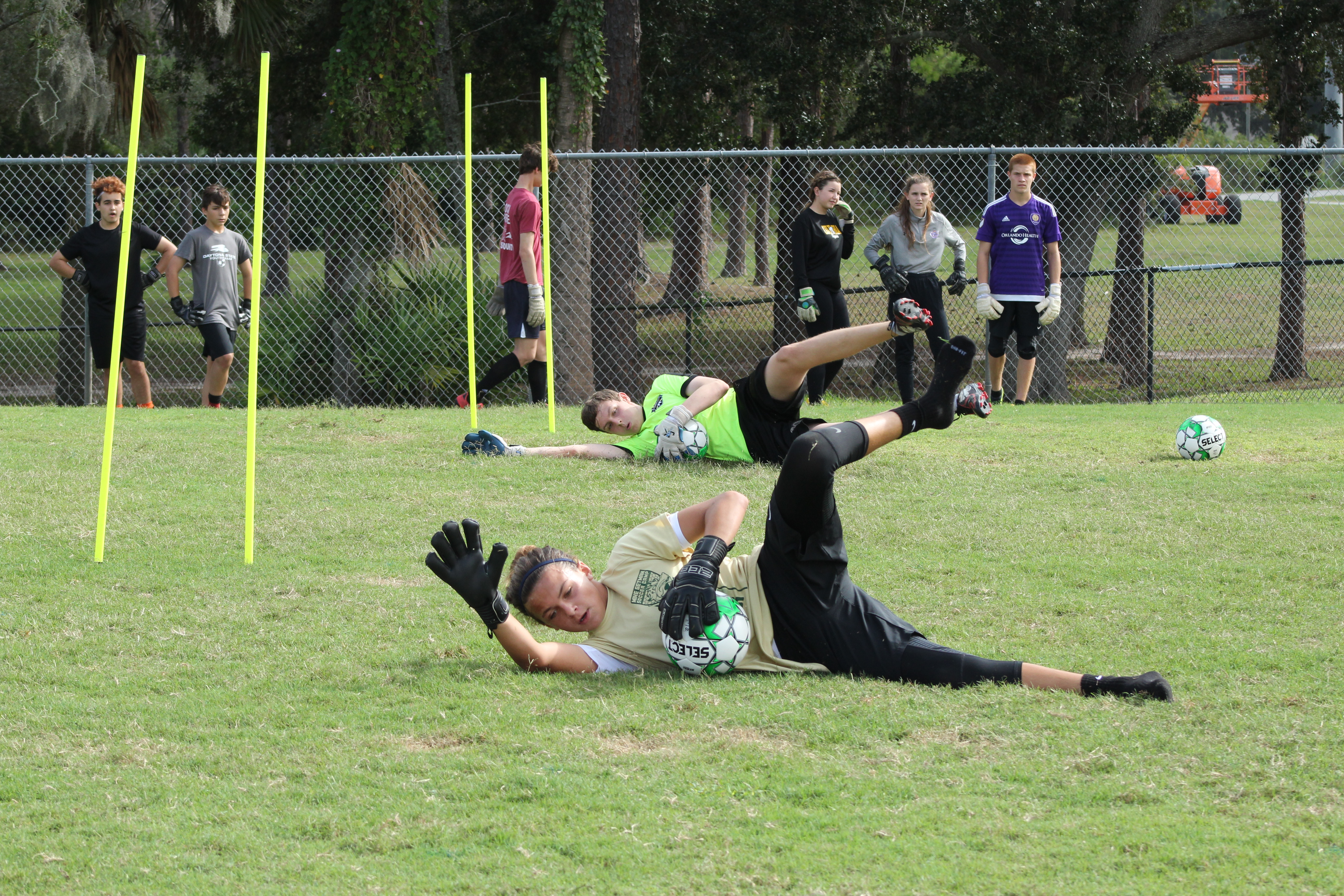 Become a college goalkeeper