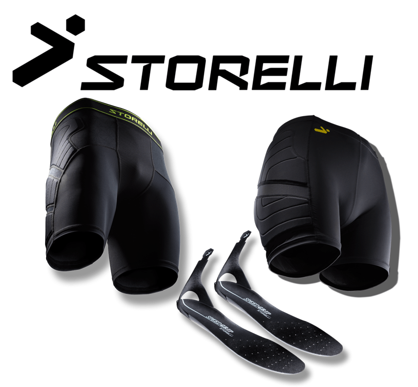 Storelli compression padded shorts