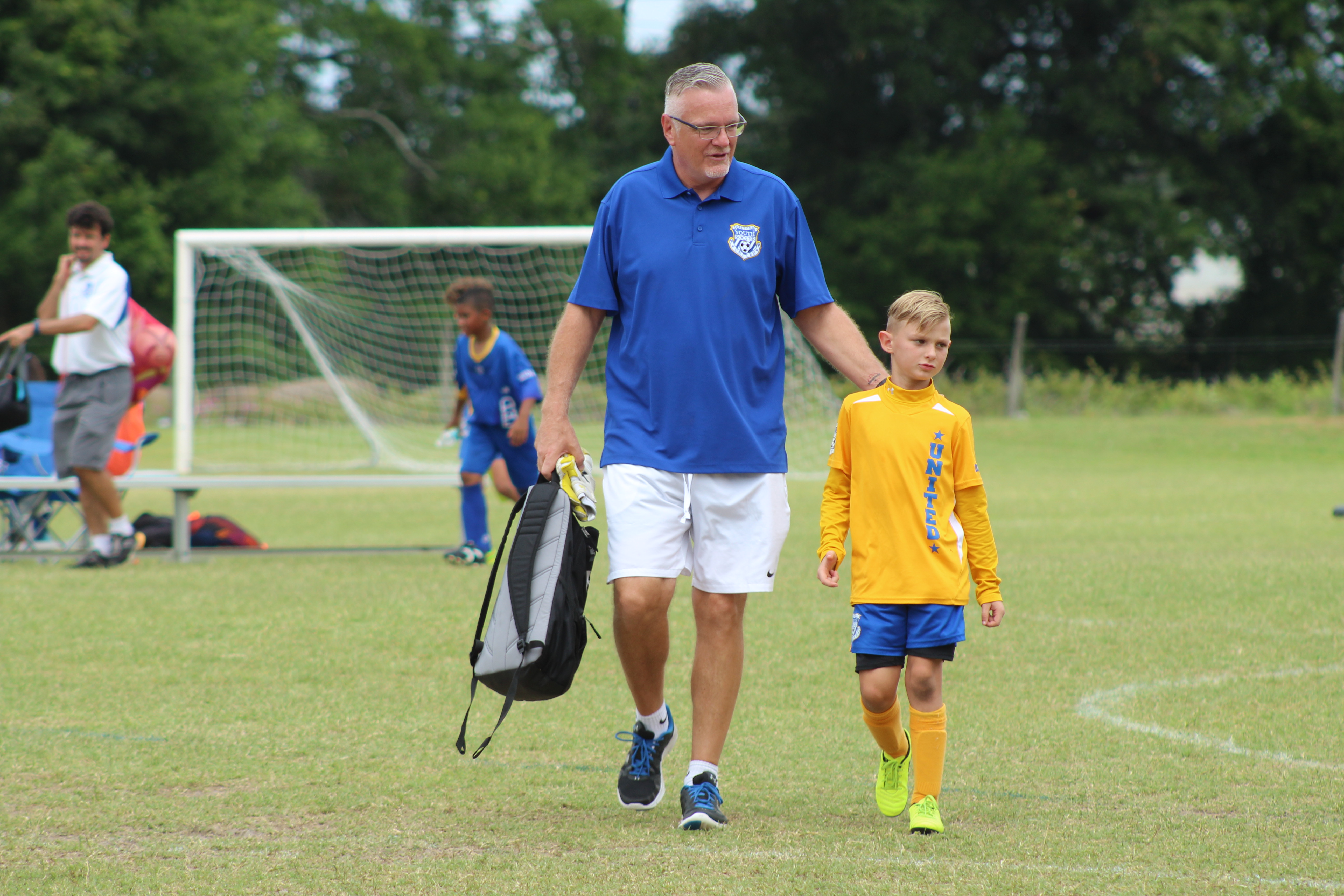 Father Son Soccer