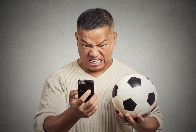 Angry soccer parents